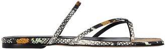 AEYDĒ Marina Strappy Slide Sandals