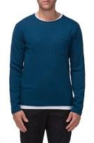 Tavik Men's 'Bloke' Raw Edge Crewneck Sweater