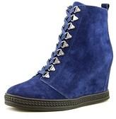 Fergie Jillian Women Suede Blue Fashion Sneakers.