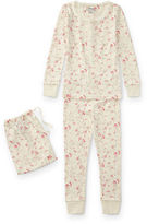 Ralph Lauren 2-6X Floral Toile Cotton Pajama Set