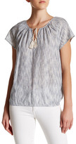 Soft Joie Dolan B Short Sleeve Peasant Blouse
