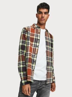 Scotch & Soda Checked Flannel Shirt Regular fit