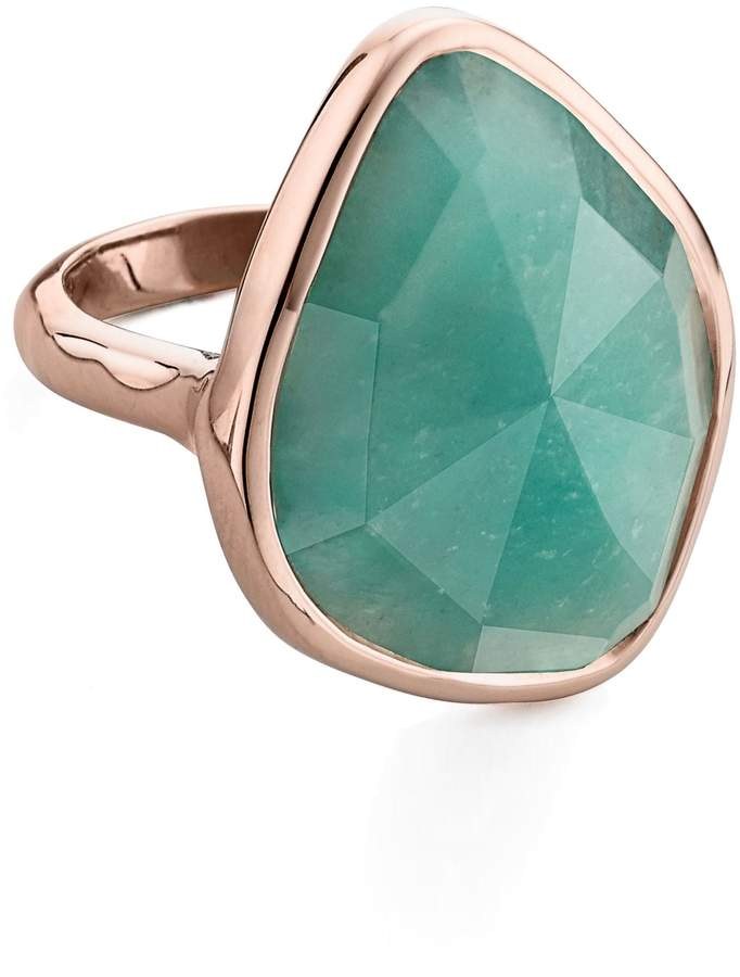 Monica Vinader Siren Nugget Semiprecious Stone Cocktail Ring