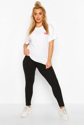 boohoo Plus Basic Legging