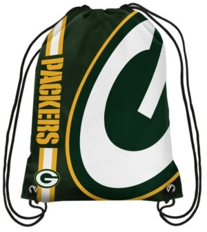 Forever Collectibles Green Bay Packers Big Logo Drawstring Bag