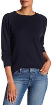 Vince Crew Neck Pima Cotton & Cashmere Sweater