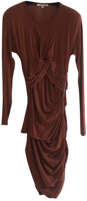 Carven Orange Wool Dresses