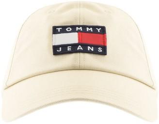 Tommy Jeans Logo Cap Beige