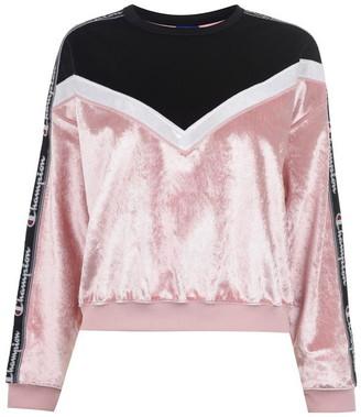 Champion Velvet Crew Sweatshirt