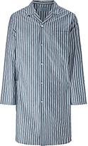 John Lewis Rochester Stripe Nightshirt, Navy/blue