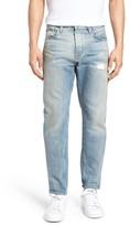 Current/Elliott Distressed Taper Fit Jeans (Ashbury)