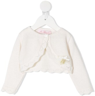 Miss Blumarine Knitted Bolero Jacket