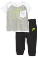 Nike Infant Boy's Graphic T-Shirt & Sweatpants Set