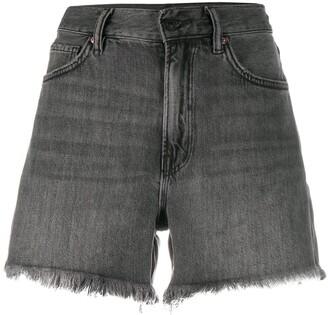 AllSaints Frayed Shorts