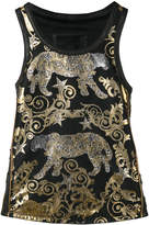 Philipp Plein Persian tank top