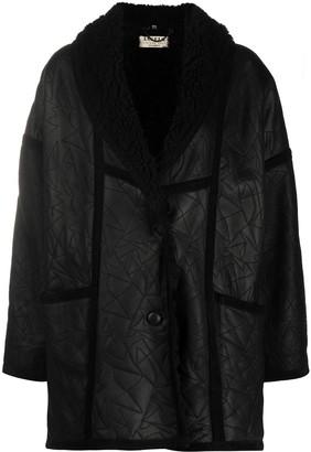 A.N.G.E.L.O. Vintage Cult 1980s Loose-Fit Sheepskin Coat