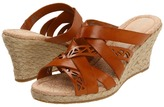 Rockport Emily Laser Cut Slide (Sudan Brown) - Footwear