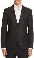 HUGO Large Plaid Slim Fit Sport Coat