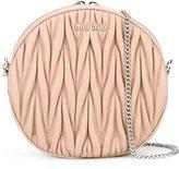 Miu Miu matelassé circle crossbody bag - women - Calf Leather - One Size