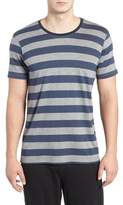 Daniel Buchler Men's Stripe Pima Cotton & Modal Crewneck T-Shirt