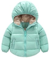 Aoibox Baby Boys and Girls Puffer Coat Kids Hooded Down Jacket Outwear