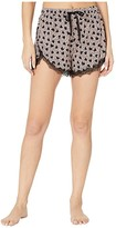 PJ Salvage Heart to Heart Shorts (Blush) Women's Pajama