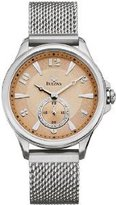 Bulova Women's 96L134 Silver Stainless-Steel Quartz Watch with Dial