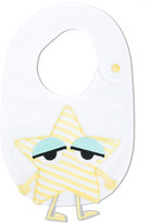 Fendi star bib - kids - Cotton/Polyester - One Size