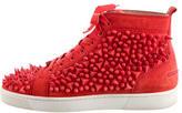 Christian Louboutin Louis Pik Pik High-Top Sneakers