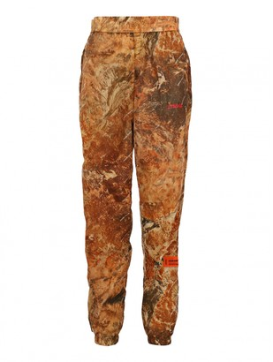 Heron Preston Camel Trousers for Women Vintage