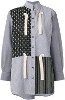 J.W.Anderson multi-print high neck shirt