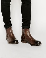 Diesel D-anklyx Boots - Brown