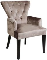 CAFE Lighting & Living Armchairs Ella Button Armchair, CL Champagne1