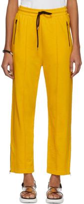McQ Yellow Racer Lounge Pants