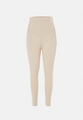 Missguided Co Ord Corset Detail Leggings
