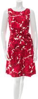 Kate Spade Silk Rose Print Dress