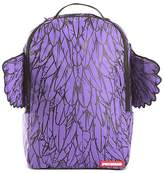 Sprayground Unisex Feather-Print Backpack with Wings