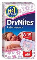 Huggies 8-15 years DryNites for Girls 9 per pack - Pack of 2