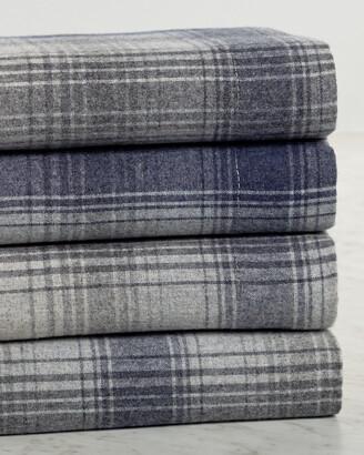Belle Epoque Plaid Flannel Sheet Set