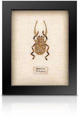 Rose Hill Boutique - Beaded Framed Stag Beetle