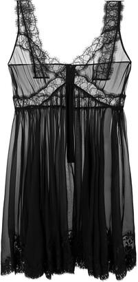 Dolce & Gabbana Sweetheart Neckline Chiffon Dress