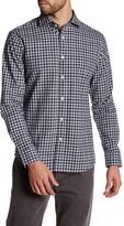 Slate & Stone Long Sleeve Check Trim Fit Shirt