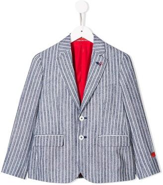 Isaia Kids striped blazer