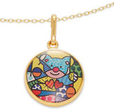 Alex and Ani Friendship Bear Art Infusion Necklace Charm