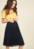 Scene of Your Studies Midi Skirt in 4X