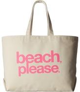 Dogeared Beach, Please Super Tote Handbags