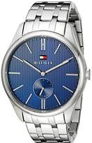 Tommy Hilfiger Men's 1791171 Analog Display Quartz Silver Watch