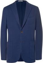 Boglioli - Blue Slim-fit Virgin Wool Blazer