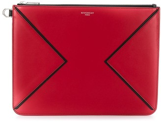 Givenchy Top Zip Fastening Clutch