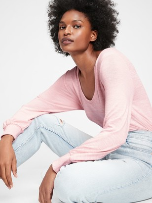 Gap Softspun Scoopneck T-Shirt